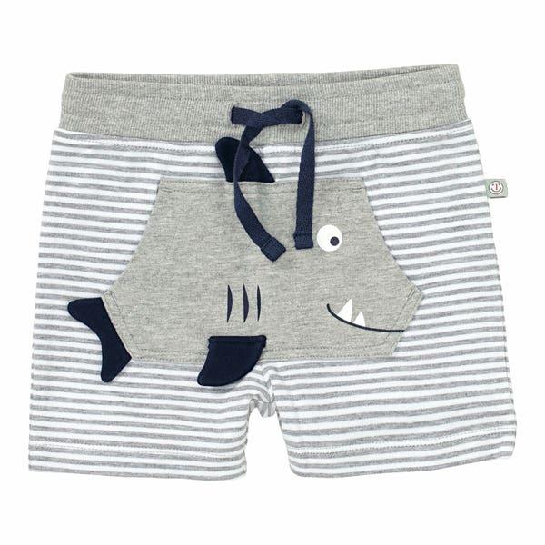 Baby-Jungen-Shorts mit Haitasche