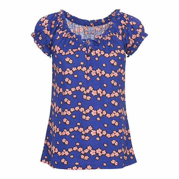 Damen-T-Shirt in 3 Mustervarianten