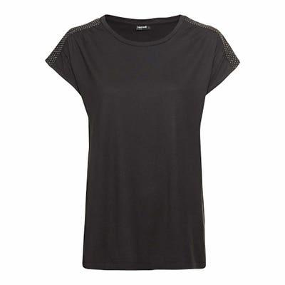 Damen T-Shirt mit U-Boot-Ausschnitt