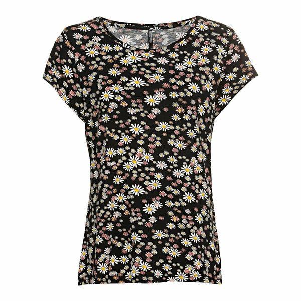 Damen-T-Shirt aus Jersey-Material