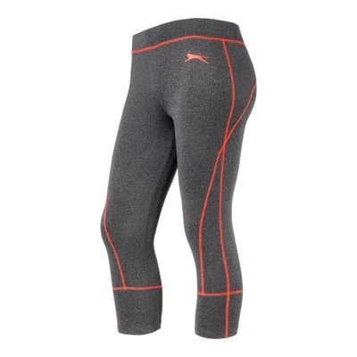 Damen-Fitnesshose mit Kontraststreifen