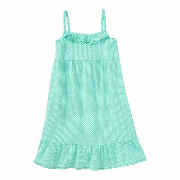 Mädchen-Kleid mit Punkten