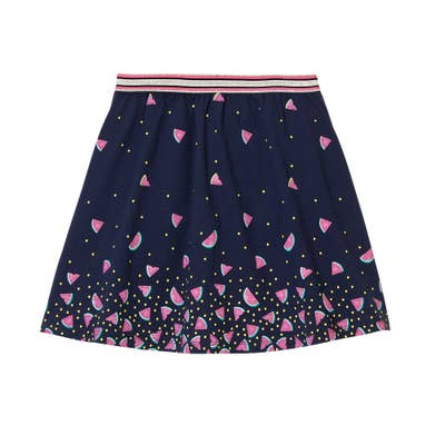 Kinder-Mädchen-Rock mit integrierten Shorts