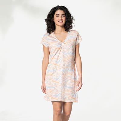 Damen-Nachthemd mit Schlaufe