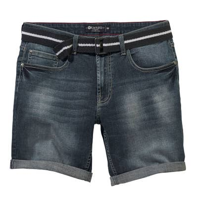 Herren-Bermudas in Denim-Design