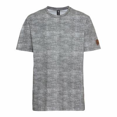 Herren-T-Shirt mit Aufnäher
