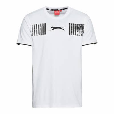 Slazenger Herren-T-Shirt mit Kontrasteinsätzen