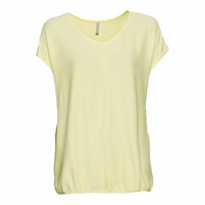 Damen-T-Shirt mit Gummizug