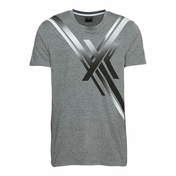 Herren-Sport-T-Shirt mit großem Druck