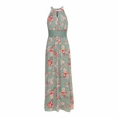 Damen-Kleid mit besonderem Ausschnitt