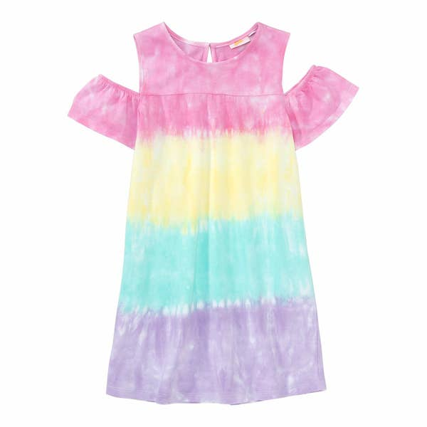 Mädchen-Kleid mit besonderen Schultern