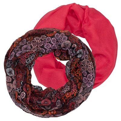 Damen-Schal in verschiedenen Muster, 2er-Pack