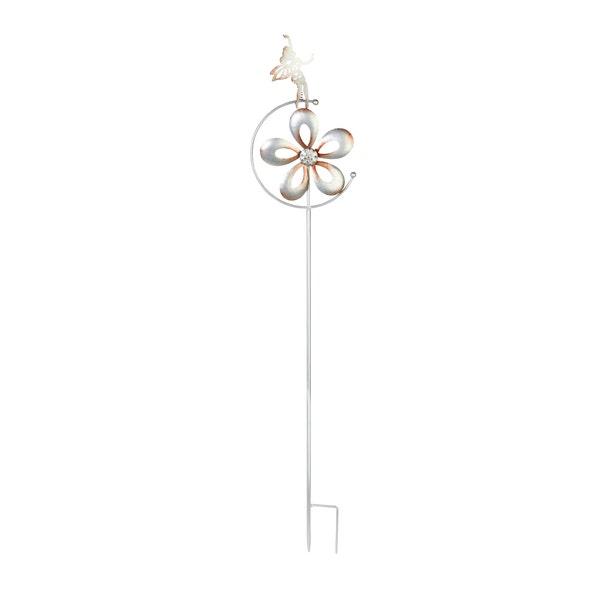 Windrad aus Metall, ca. 21x7x100cm