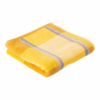 Handtuch mit Karo-Muster, ca. 50x100cm