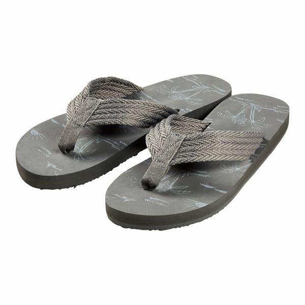 Herren-Sandalen mit Aufdruck