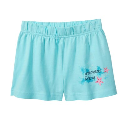 Kinder-Mädchen-Shorts im 2er-Pack