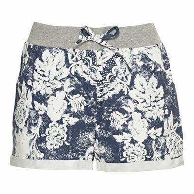 Damen-Shorts mit Musterung