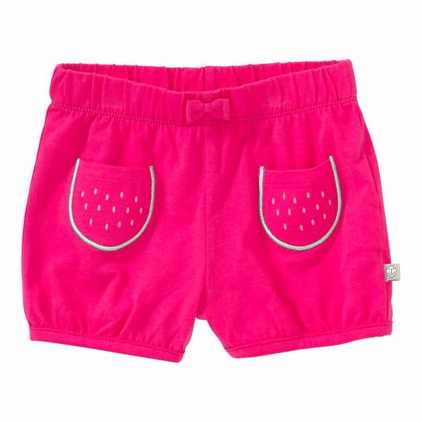 Baby-Mädchen-Shorts mit kleiner Schleife