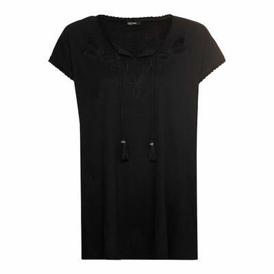 Damen-T-Shirt mit Spitze