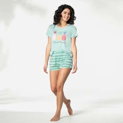Damen-Shorts mit tollem Muster