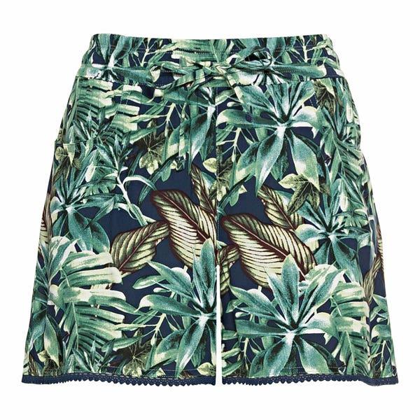 Damen-Shorts mit floralem Design