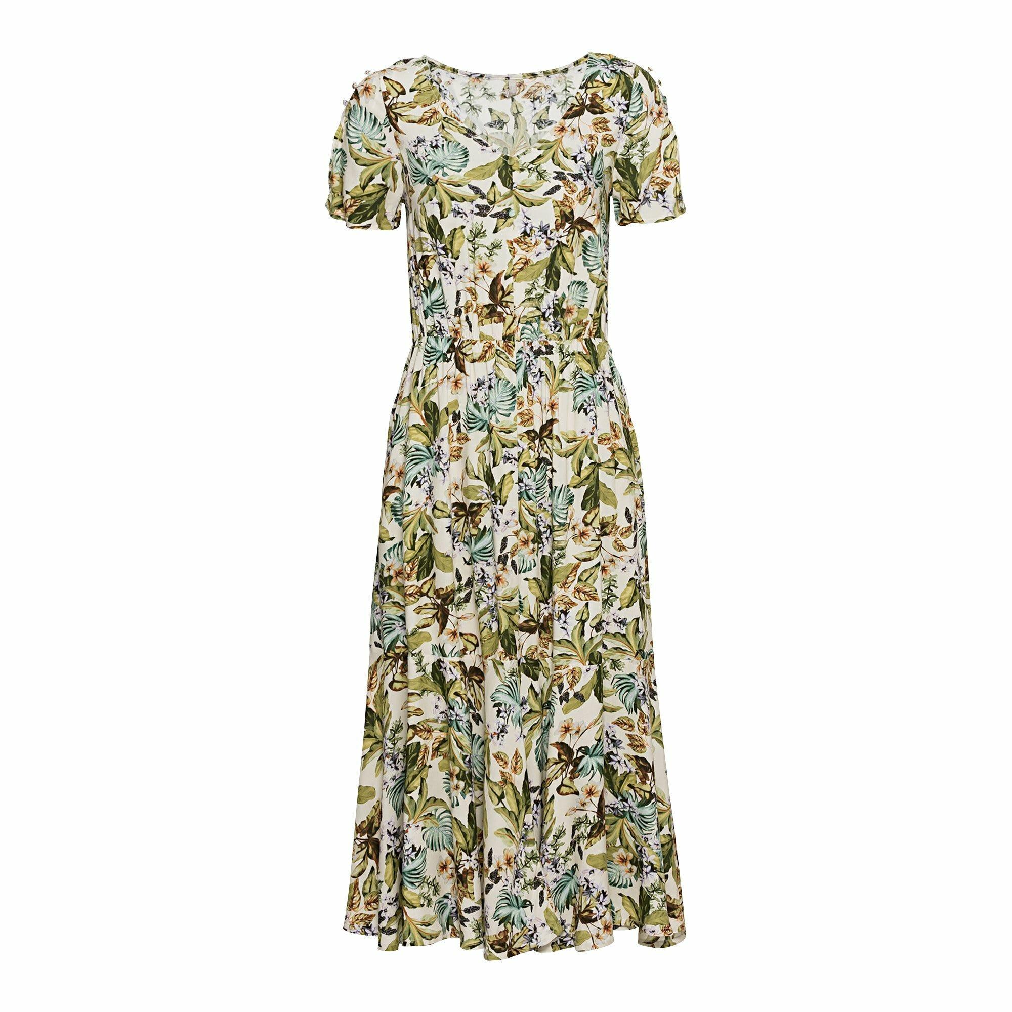 Damen Kleid mit Knopfleiste