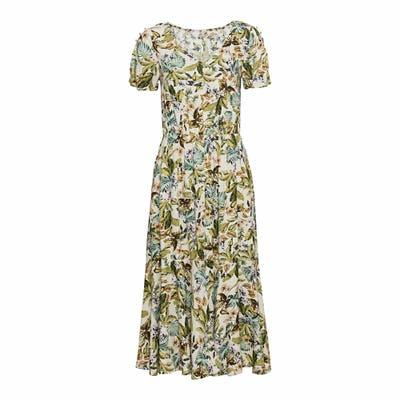 Damen-Kleid mit Knopfleiste
