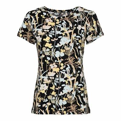 Damen-T-Shirt mit floralem Muster