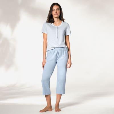 Damen-Schlafanzug mit 7/8 Hose