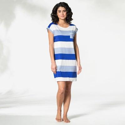 Damen-Nachthemd mit Brusttasche