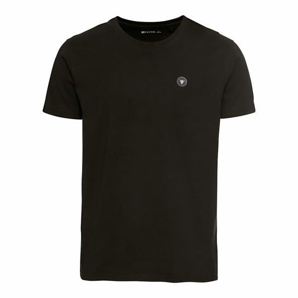 Herren-T-Shirt mit Aufnäher auf der Brust
