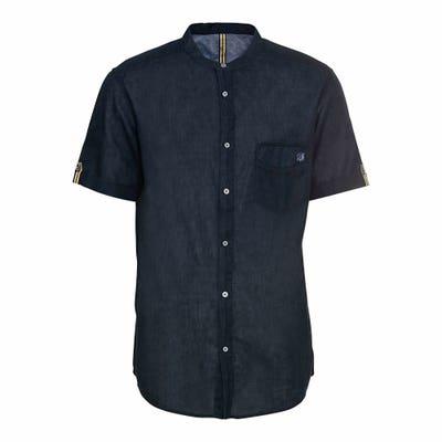Herren-Hemd mit hohem Leinen-Anteil