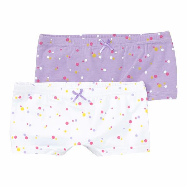 Mädchen-Panty mit Punkte-Muster, 2er-Pack