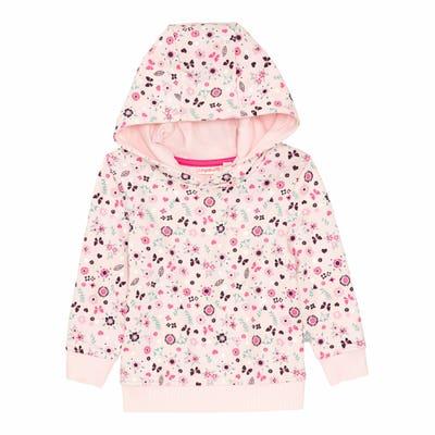 Baby-Mädchen-Sweatshirt mit Kapuze