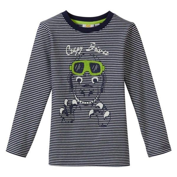 Jungen-Shirt mit coolem Dino-Frontaufdruck