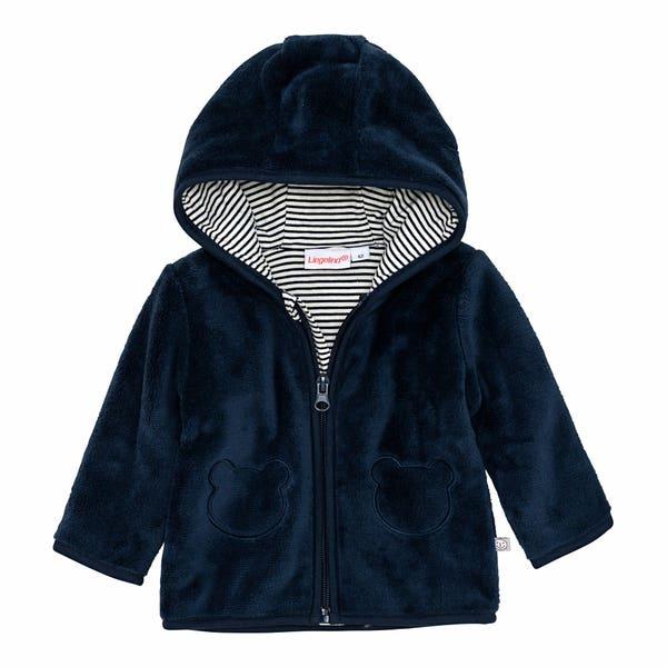 Baby-Jungen-Jacke aus Coral-Fleece