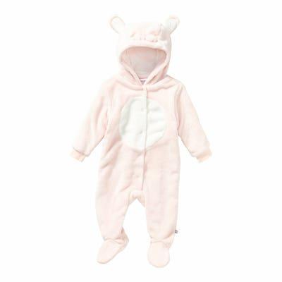 Baby-Mädchen-Overall mit Kapuze
