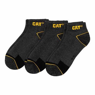 CAT® Herren-Arbeitssneaker-Socken, 3er Pack