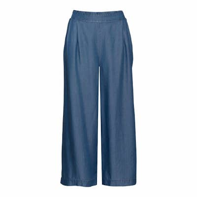 Damen-Culotte mit seitlichen Eingrifftaschen