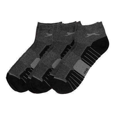 Herren-Socken mit Mesh-Einsatz, 3er-Pack