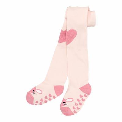 Baby-Krabbelstrumpfhose mit ABS an Fuß und Knie