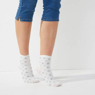 Damen-Kurzschaft-Socken, 3er Pack
