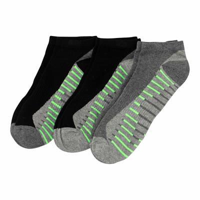 Herren-Sportsneaker-Socken mit Kontrast-Streifen