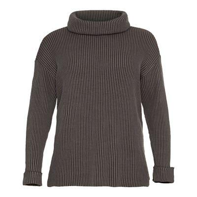Damen-Pullover mit Rollkragen, große Größen