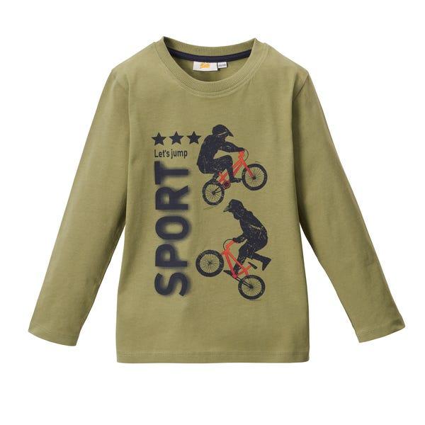Kinder-Jungen-Shirt Basic