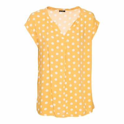 Damen-Bluse mit Punkte-Muster