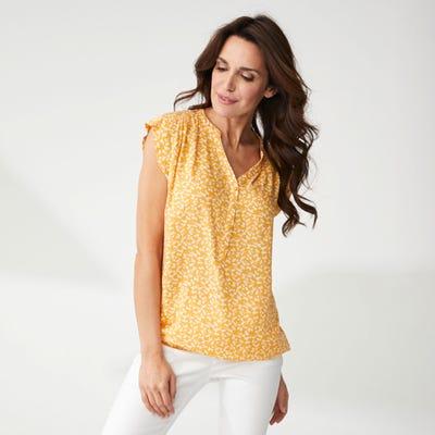 Damen-Bluse mit verschiedenen Mustern