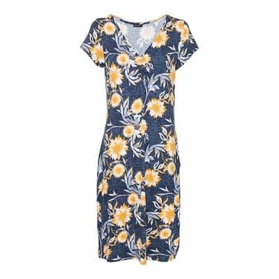 Damen-Kleid mit Blumendesign