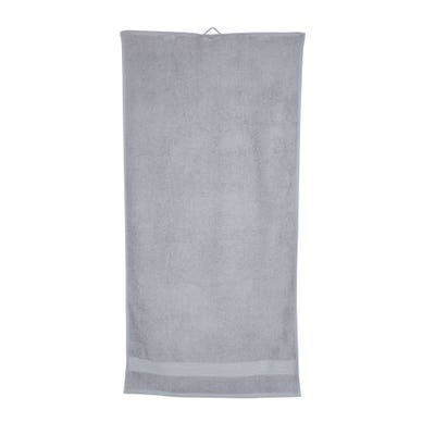 Duschtuch mit Bordüre, ca. 65x130cm
