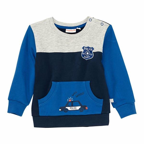 Baby-Jungen-Sweatshirt mit Känguru-Tasche